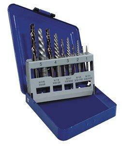 IRWIN SAE Spiral-Flute Extractor/Drill Bit Set, 10-Piece