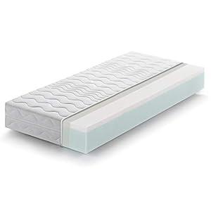 Marcapiuma - Materasso Singolo Memory 80x190 alto 20 cm - SUNRISE - H2 Medio Dispositivo Medico effetto massaggio Relax… 3 spesavip