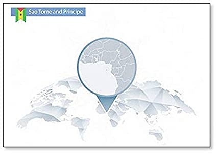 Amazon.com: Abstract Rounded World Map With Sao Tome And ... on bahia on world map, united republic of tanzania on world map, isle of man on world map, turks and caicos islands on world map, northern mariana islands on world map, british virgin islands on world map, antigua and barbuda on world map, manama on world map, freetown on world map, cocos islands on world map, reunion on world map, sao tome e principe flag, british guiana on world map, democratic republic of the congo on world map, saint kitts and nevis on world map, mayotte on world map, holy see on world map, republic of korea on world map, principe island map, northern ireland on world map,