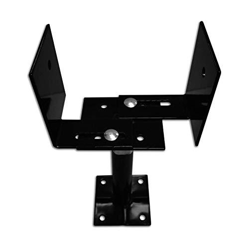 Pylex 12098 33/66 Extendable Deck Support, Black - 5 Pack