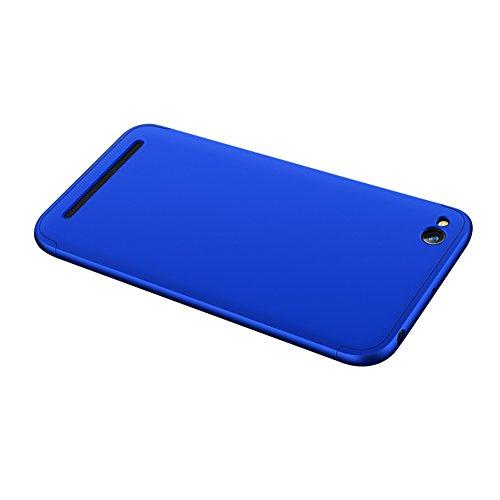 Xiaomi Redmi 5A Caso, Vandot de 360 Grados Alrededor de Todo el Cuerpo Completo de Protección Ultra Thin Slim Fit Cubierta de la Caja de Mate PC Absorción de impactos Shockproof para Xiaomi Redmi 5A ( PC QBHD-3