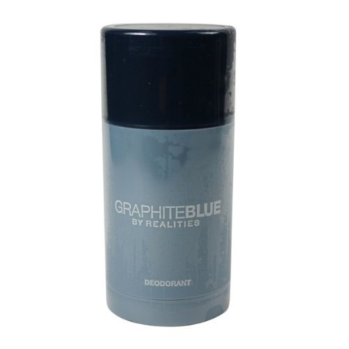 Liz Claiborne Realities Graphite Blue Deodorant Stick for Men, 2.5