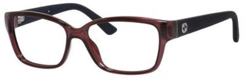 GUCCI Eyeglasses 3717 0Inl Violet Diamond - Frames Eyeglass Safilo Gucci