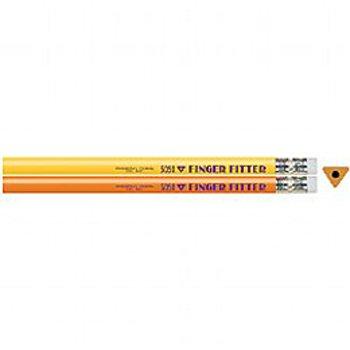5050T Finger Fitter Triangular Pencils - 144 Jumbo Triangular Pencils