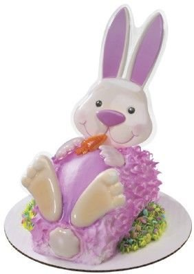 Rabbit Decoplac Create Your Own Cake ~ Designer Cake/Cupcake Topper ~ New!!!