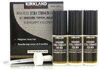 3 mois d'approvisionnement de Strong 5% Minoxidil pour la croissance des cheveux