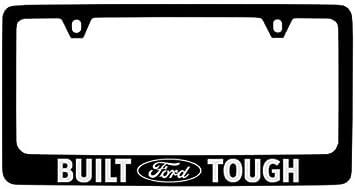 Ford F-150 Emblem Premium Matte Black License Plate Frame 2015 2016 2017 2018