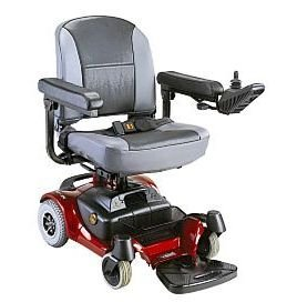 CTM HS-1500 Deluxe Mini Power Chair RED by CTM (Power Mini Chair)