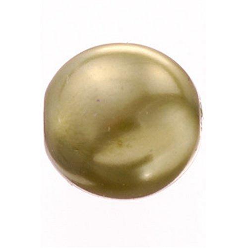 Knorr Prandell 2219640 Glaswachsperlen, 6 mm Durchmesser, grün grün KnorrPrandell 212219640 Bastelperlen