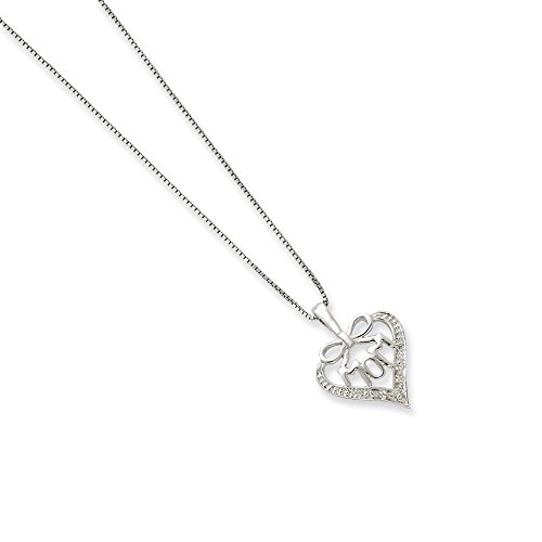 925 Sterling Silver Diamond Mom Chain Necklace Pendant Charm Fine Jewelry Gifts For Women For -