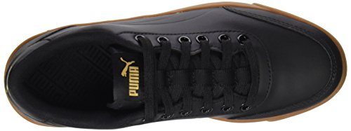 Puma Unisex Adults' Court Breaker L Mono Trainers Black (Puma Black-puma Black-metallic Gold 05) cheap sale low cost big sale clearance best seller y8Ydf