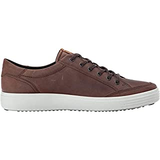 ECCO Men's Soft 7 Fashion Sneaker, Cocoa Brown,39 EU / 5-5.5 US