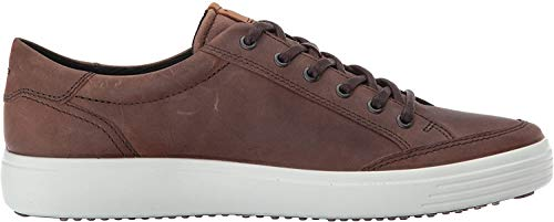 ECCO Men's Soft 7 Fashion Sneaker, Cocoa Brown,44 EU / 10-10.5 US