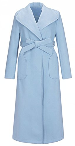 Manteau 5 Femme 5 Bleu All All RPqnw86