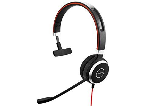Jabra Evolve 40 Mono MS - Professional Unified Communicaton Headset by Jabra