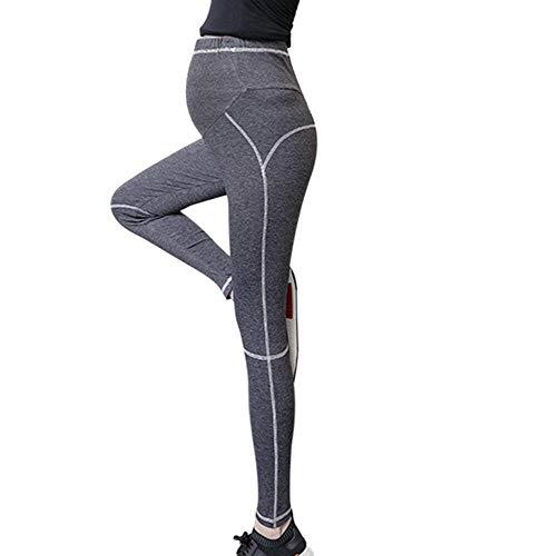 Incinte Grigio Donne Scuro 2 Hellomiko Pantaloni Yoga T6OwHn5q