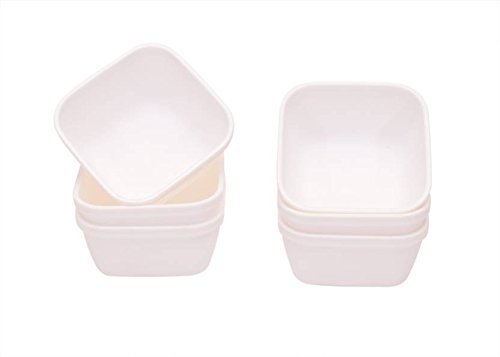 Richcraft High Quality Multipurpose Usage Plastics Classic Mixing Bowl Set, 6 Pieces, Multicolour