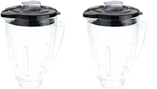 Oster blstaj-cb batidora de 6 tazas jarra de cristal - negro tapa ...
