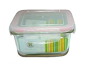 Sarvah Glass Square Food Container 570 ML
