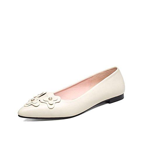 Moda señora shoes/Asakuchi señaló zapatos bajos/la versión coreana de los zapatos hermoso dulce salvaje A