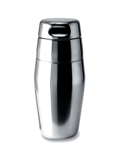 Alessi 17-Ounce Cocktail Shaker, Satin Finish by Alessi