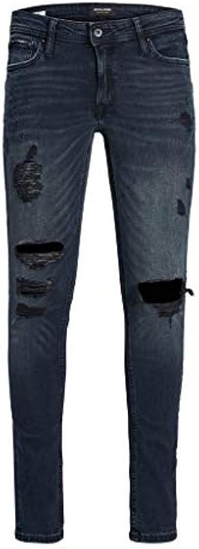 Jack & Jones męskie dżinsy Skinny Fit Liam Original AM 885 PCW 50SPS, kolor: niebieski , rozmiar: 29W / 34L: Odzież