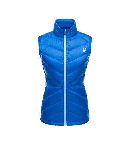 - Spyder Women's Solitude Down Vest, Hibiscus/Hibiscus, Small
