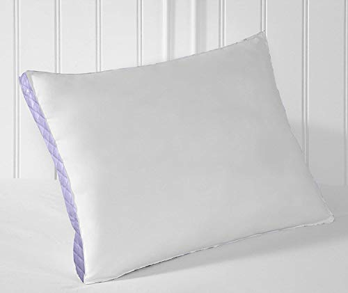 Perfect Fit | Gusseted Quilted Pilllow, Hypoallergenic, 233 Thread-Count, Extra Firm Density, Set of 2 (Side Sleeper, King)