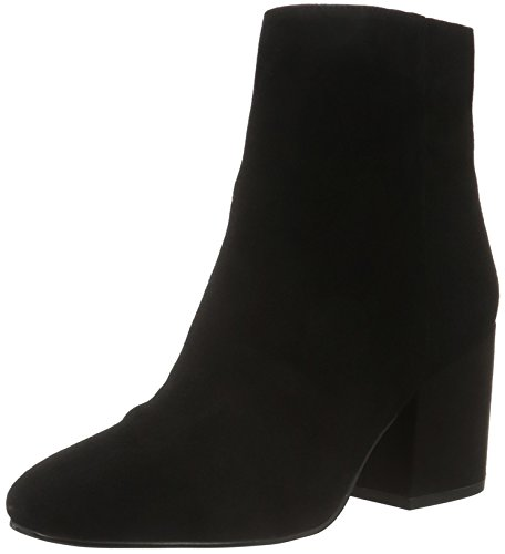 - Sam Edelman Women's Taye Ankle Boot, Black Suede, 7.5 Medium US