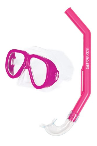 Body Glove Youth Quest Mask and Snorkel Combo, Pink (Nose Mask Quest)