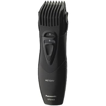 Panasonic Beard Trimmer, Men's, Cordless, Wet or Dry Operation, ER2403K