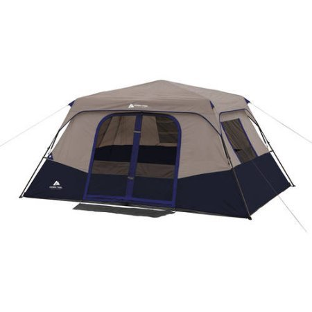 Ozark Trail 8 Person 2 Room Instant Cabin Tent, Carry bag...
