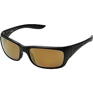 Native Eyewear Kannah Polarized Sunglasses, Matte Black Frame