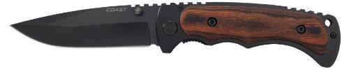 Coast FX411 Frame Lock Folding Knife 4-Inch (Folding Frame Lock Knife)