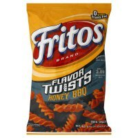 Fritos Corn Snacks, Twists, Honey BBQ, 9.25oz Bag (Pack of 3) by Fritos