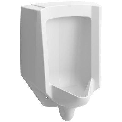 Bardon High-Efficiency Urinal (Heu), Washout, Wall-Hung, 0.13 gpf To 1 gpf, Rear Spud Finish: White