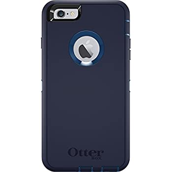 official photos d11f0 3c23c OtterBox DEFENDER iPhone 6 Plus/6s Plus Case - Frustration Free Packaging -  INDIGO HARBOR (ROYAL BLUE/ADMIRAL BLUE)