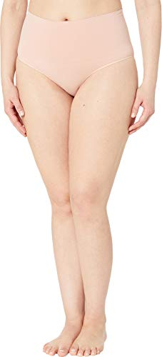 SPANX Women's Plus Size Everyday Shaping Brief Vintage Rose 2X