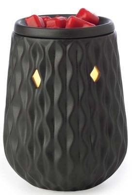 Candle Warmers Illumination Candle Warmer, Diamond Black