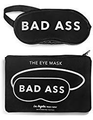 LA Trading Company Bad Ass Sleep Mask, Best Sleeping Eye Mask, Eye Cover for Travel, Meditation, Nap, Blindfold for Men or Women