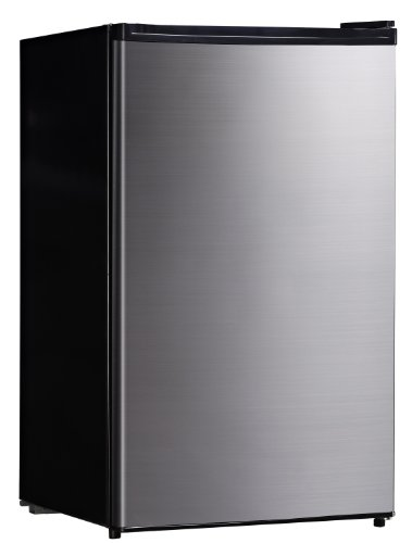 SPT 4.4 Cubic Feet Compact Refrigerator in Stainless Steel,