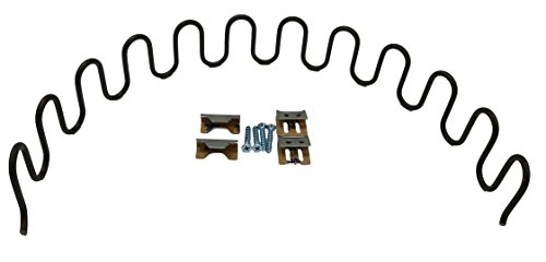 True Choice DIY Replacement Seat Spring Kit With Clips And Screws (20 Inch)