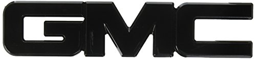 Ami 96504k Gmc Tailgate Emblem Black Powder Coat 1 Pack