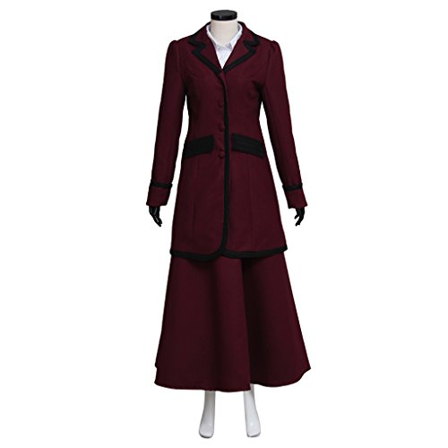 CosplayDiy Women's Suit for Doctor Who 8th Season Missy Mistress Cosplay M