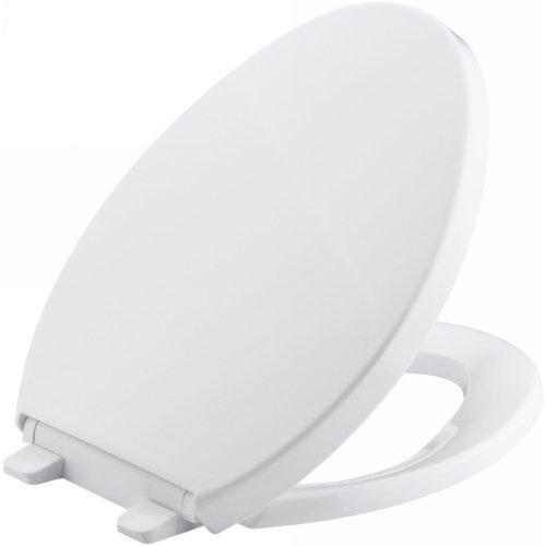 KOHLER K-4748-0 Saile Quiet-Close Elongated Toilet Seat with