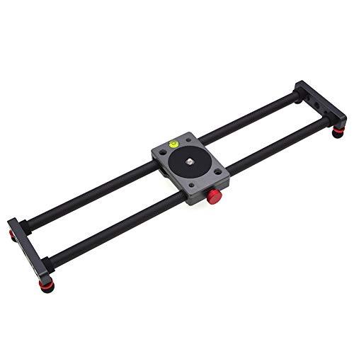 CNSELLER Camera Slider, Carbon Fiber Camera Track Slider Video Stabilizer Rail, Carbon Fiber Track Dolly Rail for DSLR Camera DV Video Camcorder Film