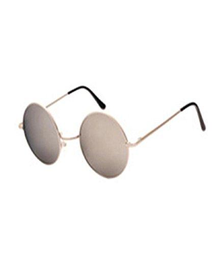 Sunfei Men Women Round Square Vintage Mirrored Sunglasses Eyewear Outdoor Sports Glasse - Aviator Glasse