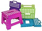 Home Basics - Folding Step Stool - Pink