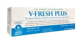 V-Fresh Plus 8Pack - Is for Feminine Hygiene, treatment of Bacterial  vaginosis, BV