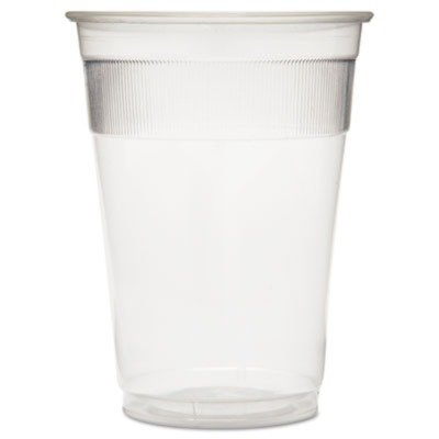 GENWRAPCUP Individually Wrapped Plastic Cups, 9oz, Clear